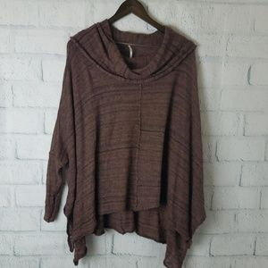 Free People | Cowl Neck Oversize Sweater